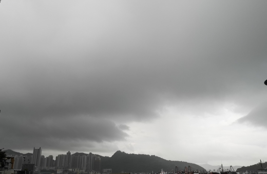 Typhoon Signal Number 3 raised in HK due to Tropical Storm 'Ewiniar'